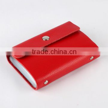 RFID blocking Pu leather card holder