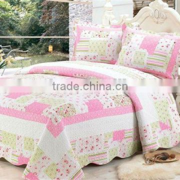 3pcs Cotton Quilt Bedspread Coverlet KING Bedding Set Bed in a Bag                                                                         Quality Choice