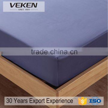 Veken Home Textile Plain Dyed Bed Sheet Set Bamboo Home Sense