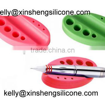 Silicone tattoo pen holder, silicone stand for makeup derma roller, silicone holder for tattoo pen