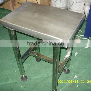 stainless steel food processing platform