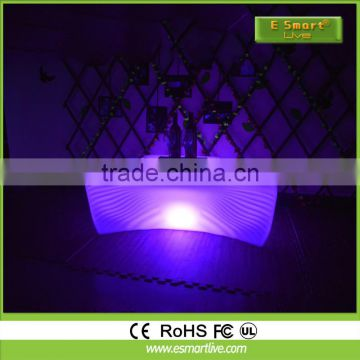 Glowing Waterproof IP68 LED Furniture/ LED Coffee Table/LED Chairs and Tables for Party