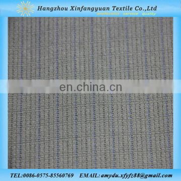 polyester cotton woven fabric stripe jacquard fabric