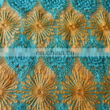Gold Embroidered Fabric