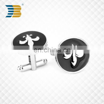 promotional shiled custom cufflink manufacture