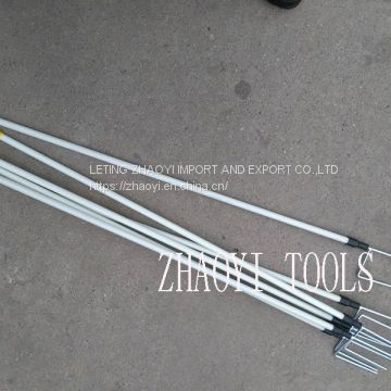 PP02 portable treading-in step-in paddock fencing posts