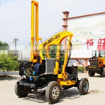 New Type hand t works hydraulic static pile driver manufacturer