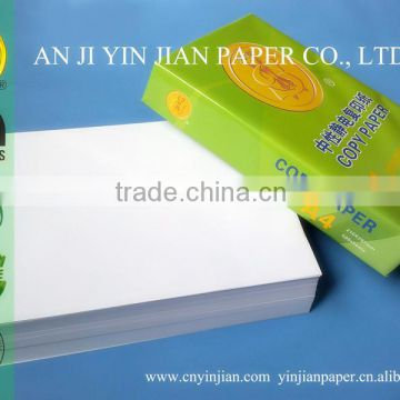 Most popular and practical a4 copy paper with 210*297mm Size