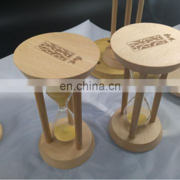 Wholesale Sand Glass Clock Hourglass Restaurant Wood