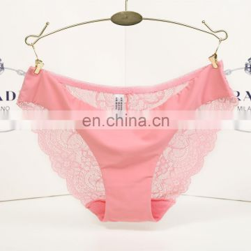 Sexy lace transparent panty women underwear seamless briefs