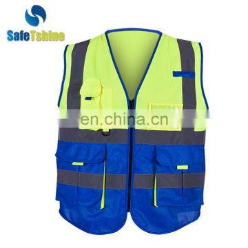 industrial reflective safety vest for worker