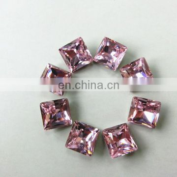 Jewely and Bags Accessory Wholesale Crystal Stone Rose color