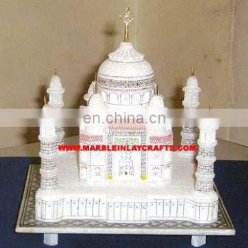 Marble Indian Souvenir Taj Mahal Replica Decor Valentine Gifts