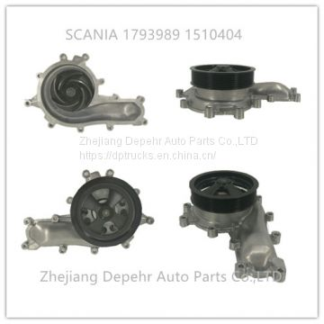 Zhejiang Depehr Heavy Duty European Truck Cooling System Scania Truck Collant Water Pump 1793989 1510404