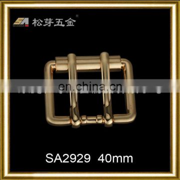 SA2929 double pin buckle for belt and handbag