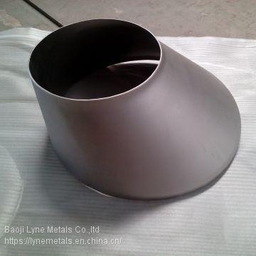 Supplier Titanium GR2 /gr12 Eccentric reducer  and tee