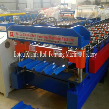 Corrugated Aluminum Sheet Roll Forming Machine