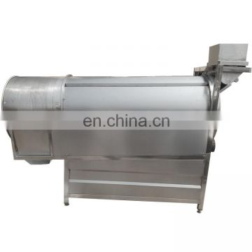 Taizy roller drum potato chips seasoning machine/snack food flavoring machine