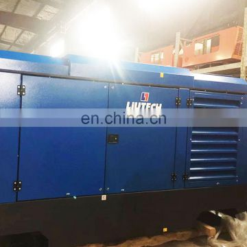Wide range capacity conditioning motor rotary screw electric 10 bar air compressor for irrigation