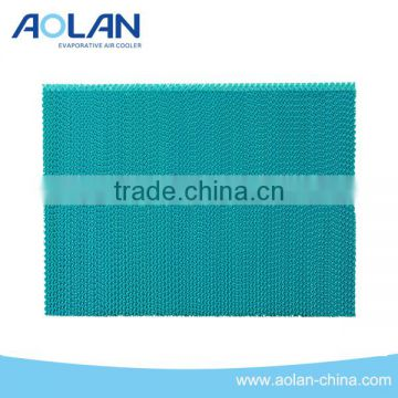 industrial cooling pad / greenhouse evaporative cooling pad / pad fan cooling system