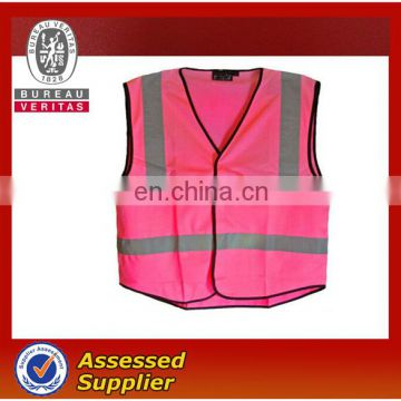 Fashion Pink Reflective Safety Vest