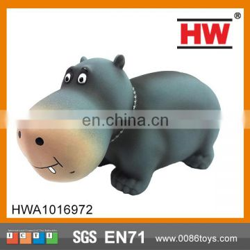 8 Inches Evade Glue Cartoon Hippo Happy Hippo Toys