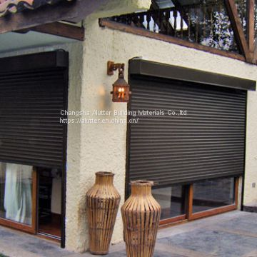 Lowes Price Automatic Security Storm Resistance Insulated White Aluminium Roller Shutter Made in China