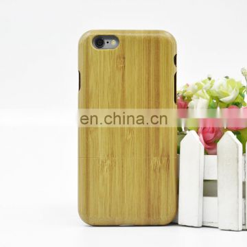 Custom High Quality Bamboo Case, Bamboo Cell Phone For iPhone 6 6s Cases
