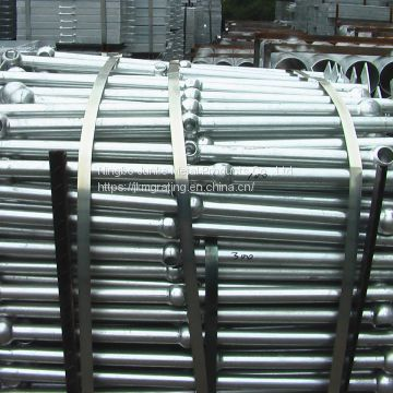 galvanized steel joint stanchions