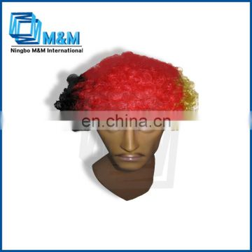 Germany country Hair Wig Men Fans Wig What Factory Under $5