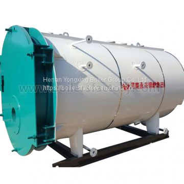 CWNS Single Drum Hot Water Boiler of Oil/Gas Fired Boiler from China ...