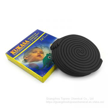 Kukasa Brand 138mm High Quality Black Mosquito Coil