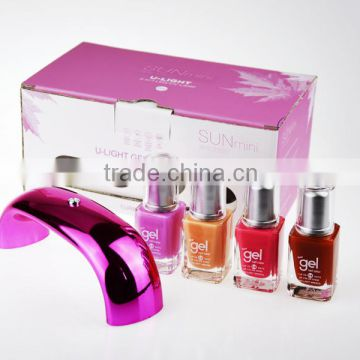 UVLED 2016 Deluxe Full nail arts uv gel polish kit                                                                         Quality Choice