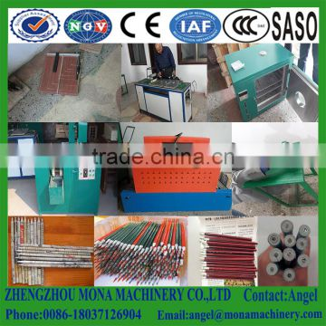 Big capacity paper pencil production line,environmental newspaper pencil making machine line