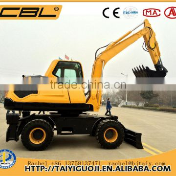CBL-135 hyundai excavator wheel excavator for sale