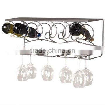 Wine Bar 8 Bottle Wall Rack