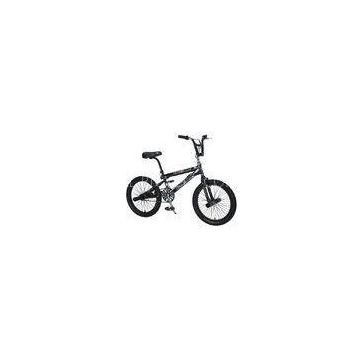 Cool Black Alloy 16inch BMX Freestyle Bikes Fixed Gear Road Bicycle For Children