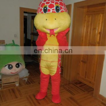 Cobra mascot costume for Zoo