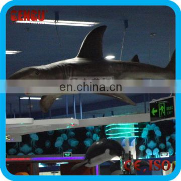 Kids indoor playground high quality mechanical shark