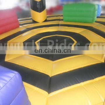 multipeople fighting court Inflatable dodgeball arena for sports