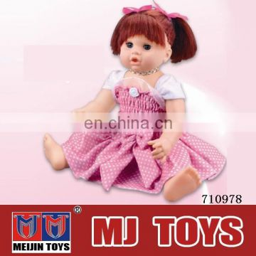 "Doll 22cm moving heads dolls 18"" furniture all style baby wholesale"