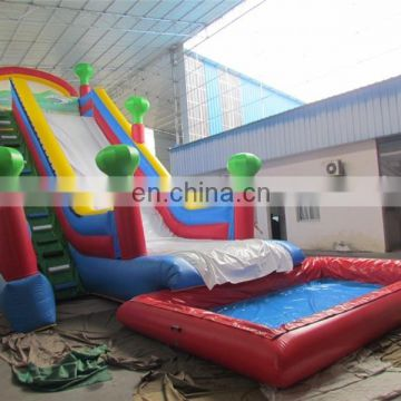 Ploto PVC giant inflatable slide big water slides sale for kids and adults