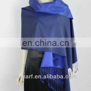 OEM best selling double color spanish silk shawls