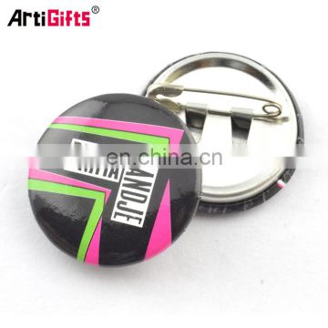 Artigifts promotional cheap custom tin Button Badge