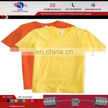 quality custom blank t shirt/gym tshirt/sports t-shirt