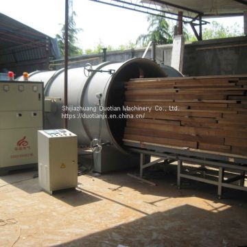 Automatic Wood Timber Dryer Machine Vacuum Kiln Sales From Duotian