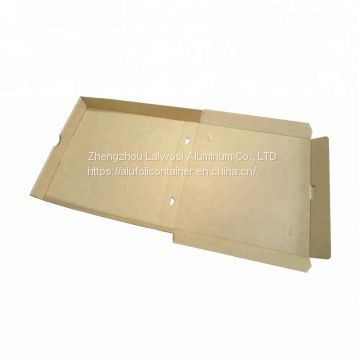 Environmental healthy customized logo pizza packaging box