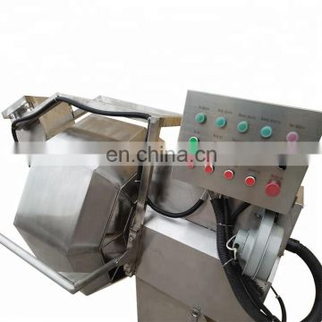 Octagonal Snacks Seasoning Mixer Machine potato chips flavoring machine