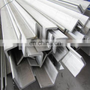 Mill Test equal leg stainless steel Angle bar aisi 201