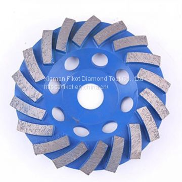 Diamond Grinding Cup Wheel Disc for Concrete Granite Marble Stone Radiation grinding wheel